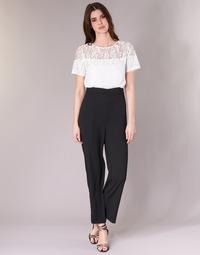 Vêtements Femme Combinaisons / Salopettes Molly Bracken YURITOE Noir / Blanc