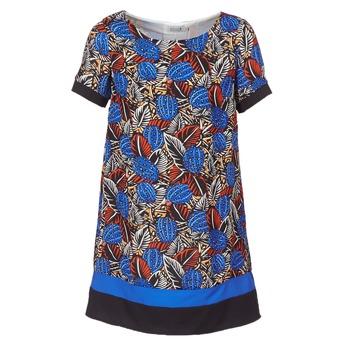 Vêtements Femme Robes courtes Molly Bracken JUNCE Bleu