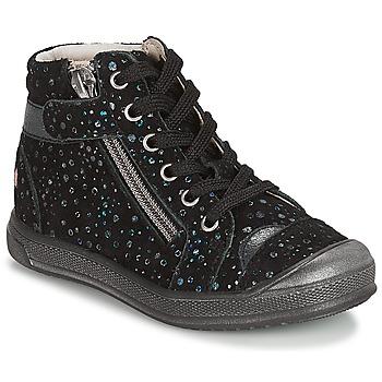 Chaussures Fille Baskets basses GBB DESTINY VTE NOIR CONFETTI DPF/EDIT