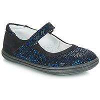 Chaussures Fille Ballerines / babies GBB PLACIDA CTU MARINE-NOIR DPF/CUBA
