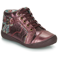 Chaussures Fille Boots Catimini RHUBARBE VTE BORDO DPF/2852