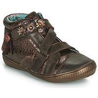 Chaussures Fille Boots Catimini ROQUETTE VTE MARRON-CUIVRE DPF/2852