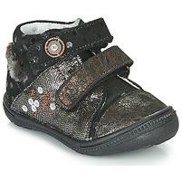 Chaussures Boots Catimini ROSSIGNOL VTC NOIR-CUIVRE DPF/2822
