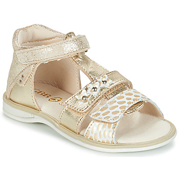 Chaussures Fille Sandales et Nu-pieds GBB SYLVIE CTV OR DPF/LOLA
