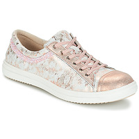 Chaussures Fille Boots GBB GINA VTE ROSE-GRIS  DPF/2835