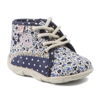 Chaussures Fille Chaussons GBB PAT TTX MARINE-FLEUR DTX/AMIS