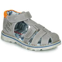 Chaussures Garçon Sandales et Nu-pieds Catimini SYCOMORE Gris / Orange