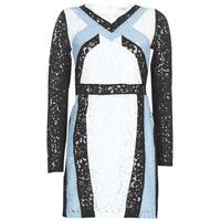 Vêtements Femme Robes courtes Morgan RLIXI Blanc / Noir / Bleu