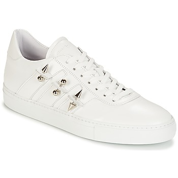 Chaussures Homme Baskets basses John Galliano 4722 Blanc