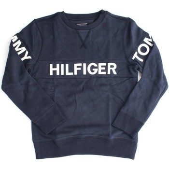Vêtements Garçon Sweats Tommy Hilfiger KB0KB03382 AME CUT SWEAT-SHIRT Enfant NAVY BLAZER NAVY BLAZER