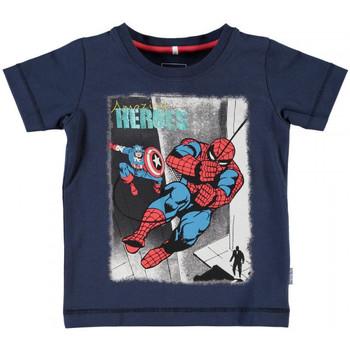 Vêtements Garçon T-shirts manches courtes Name It Kids T-shirt  Nitfolkeson Bleu Marine (sp)
