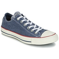 Chaussures Baskets basses Converse CHUCK TAYLOR ALL STAR HI STONE WASH Marine