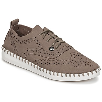 Chaussures Femme Derbies LPB Shoes DIVA Taupe