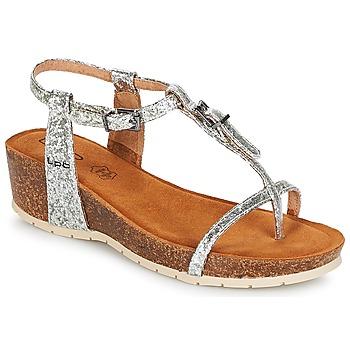 Chaussures Femme Sandales et Nu-pieds LPB Shoes KISS Argenté