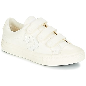 Chaussures Garçon Baskets basses Converse STAR PLAYER EV V OX MARCH CANVAS Blanc