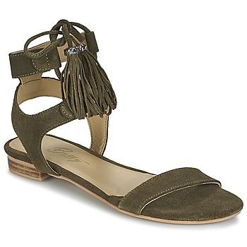 Chaussures Femme Sandales et Nu-pieds Betty London IKARA Kaki