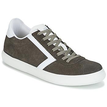 Chaussures Homme Baskets basses Yurban IRETIPUS Gris / Kaki