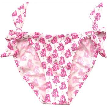 Vêtements Fille Maillots / Shorts de bain Princesse Ilou Slip de bain fille illustré Fushia