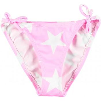 Vêtements Fille Maillots / Shorts de bain Princesse Ilou Slip de bain fille rose étoilé Rose