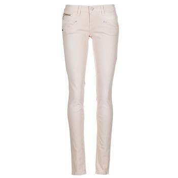 Vêtements Femme Pantalons 5 poches Freeman T.Porter ALEXA SLIM MAGIC COLOR Rose