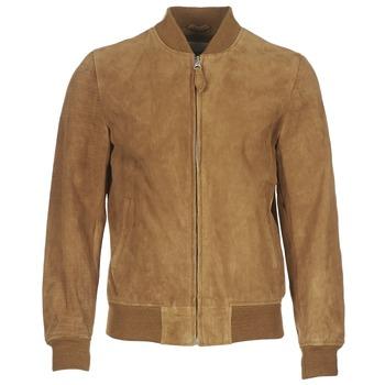 Vêtements Homme Vestes en cuir / synthétiques Schott LC301 Cognac