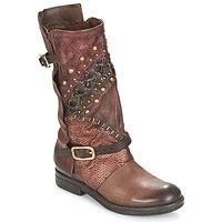 Chaussures Femme Boots Airstep / A.S.98 VERTI Choco Amaranto