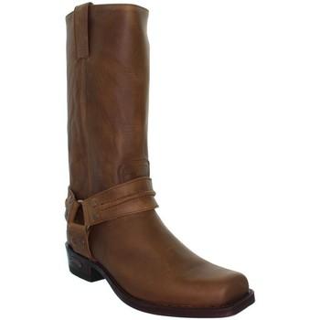 Chaussures Homme Bottes ville Sendra boots Santiags  ref_sen08328-MARRON Marron
