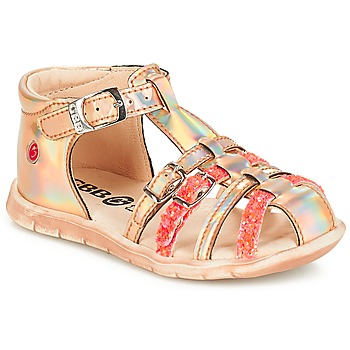 Chaussures Fille Baskets basses GBB PERLE TTS ROSE METAL-FLUO DPF/NEMO