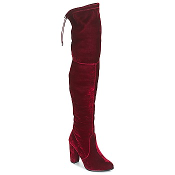 Chaussures Femme Cuissardes Buffalo  Rouge