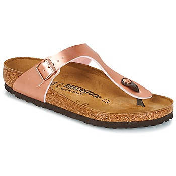 Chaussures Femme Tongs Birkenstock GIZEH Rose