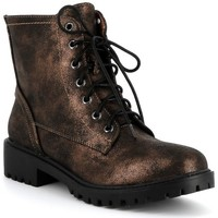 Chaussures Femme Boots Playa Collection Bottines APOCALYPSE Bronze