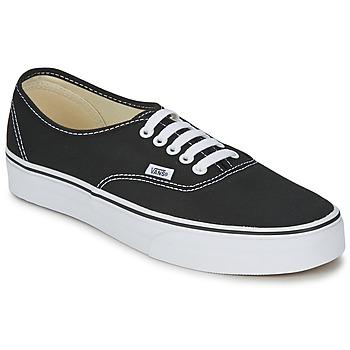 Chaussures Baskets basses Vans AUTHENTIC Noir
