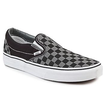 Chaussures Slip ons Vans CLASSIC SLIP-ON Noir / Gris