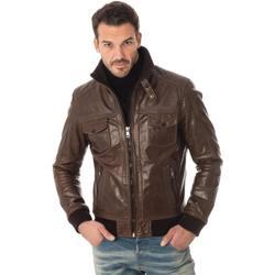 Vêtements Homme Vestes en cuir / synthétiques Serge Pariente TORNADE MOCCA Mocca