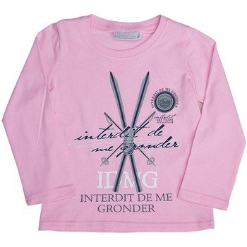 Vêtements Enfant Sweats Interdit De Me Gronder SKI Rose