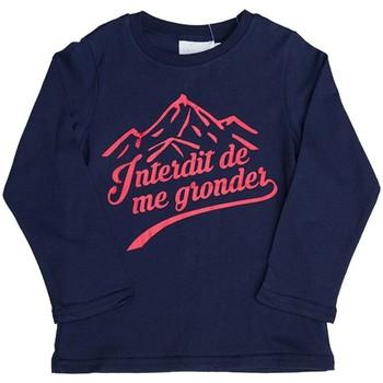 Vêtements Enfant Sweats Interdit De Me Gronder ANAPURNA Bleu marine