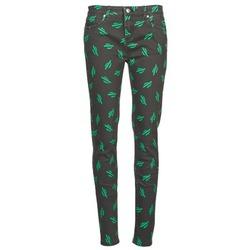 Vêtements Femme Jeans slim American Retro TINA Noir / Vert