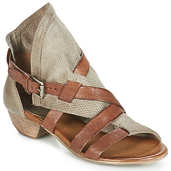 Chaussures Femme Sandales et Nu-pieds Dream in Green BIVIO Taupe
