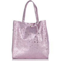 Sacs Femme Cabas / Sacs shopping Laura Moretti Sac ANNE Femme Collection Automne Hiver Rose