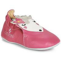 Chaussures Fille Chaussons bébés Catimini HERISSETTE VTE VX ROSE DPF/SOUPLE
