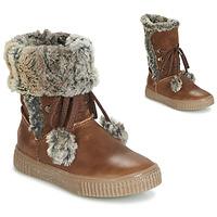 Chaussures Fille Bottes ville GBB NOUSTIK VTE MARRON DPF/ESTER