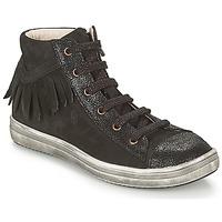 Chaussures Fille Baskets montantes GBB FRANCESCA Noir