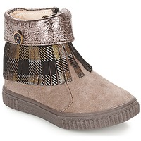 Chaussures Fille Boots Catimini PERETTE Beige