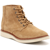 Chaussures Garçon Boots Toms Mens Toffee Brown Suede Porter Boots Toms_161