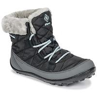 Chaussures Enfant Bottes de neige Columbia YOUTH MINX™ SHORTY OMNI-HEAT™ WATERPROOF Noir