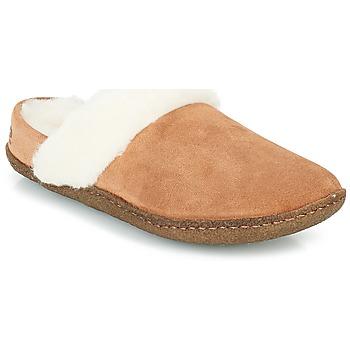 Chaussures Femme Chaussons Sorel NAKISKA™ SLIDE II Camel