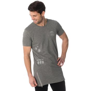 Vêtements Homme Débardeurs / T-shirts sans manche Paris Saint-germain D SOUTIO GRIS NEYMAR Gris
