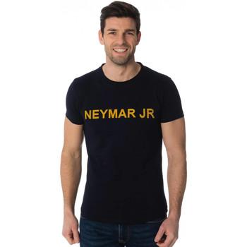 Vêtements Homme T-shirts manches courtes Paris Saint-germain T-SHIRT D NAHIL BLEU NEYMAR Bleu marine