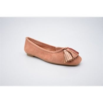 Chaussures Femme Ballerines / babies Reqins harmony pompom Rose