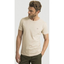 Vêtements Homme T-shirts manches courtes Chevignon Tshirt Manches courtes straight col rond BEIGE CHINO CHI